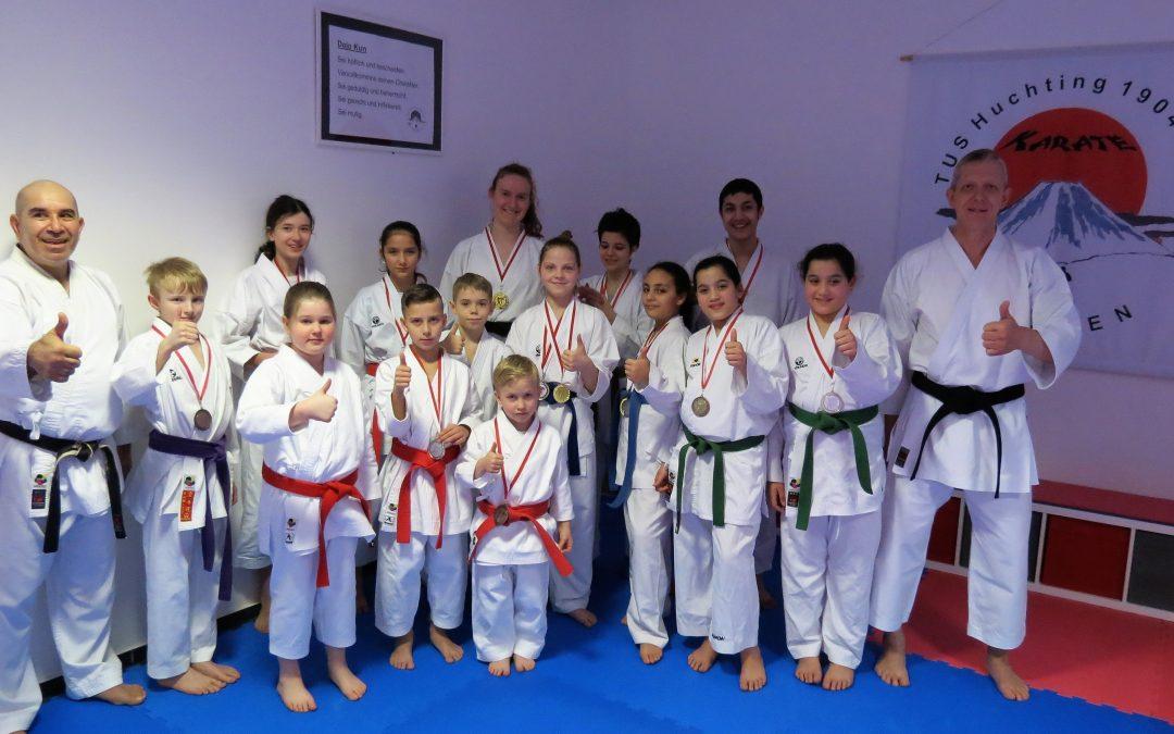 5x Gold für TuS Huchting auf Bremer Karate-Landesmeisterschaft