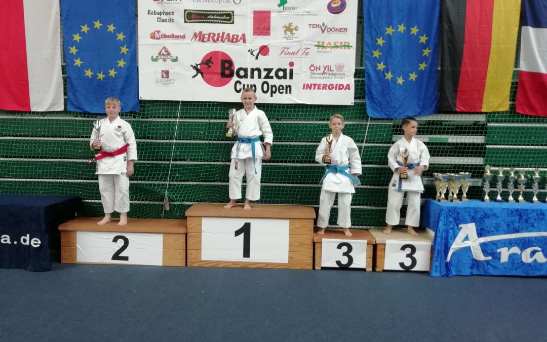 Karate-ka Alexander Albien erkämpft 3. Platz auf International Banzai Cup Berlin 2020