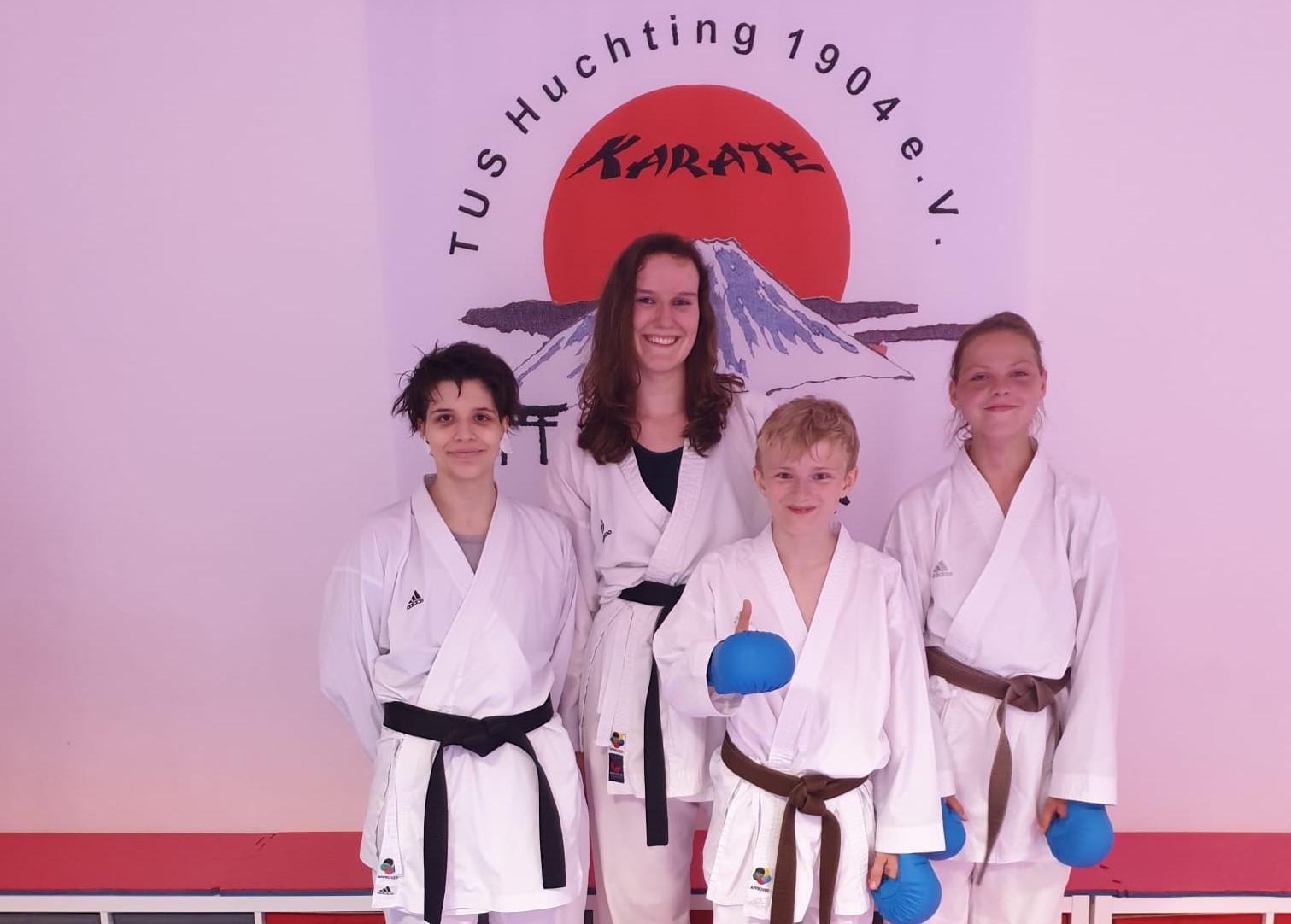 Kumite-Team TuS Huchting DM2021