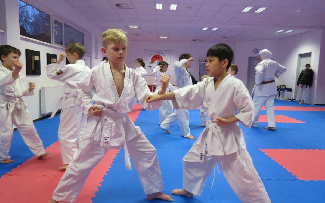 Jetzt Karate lernen!