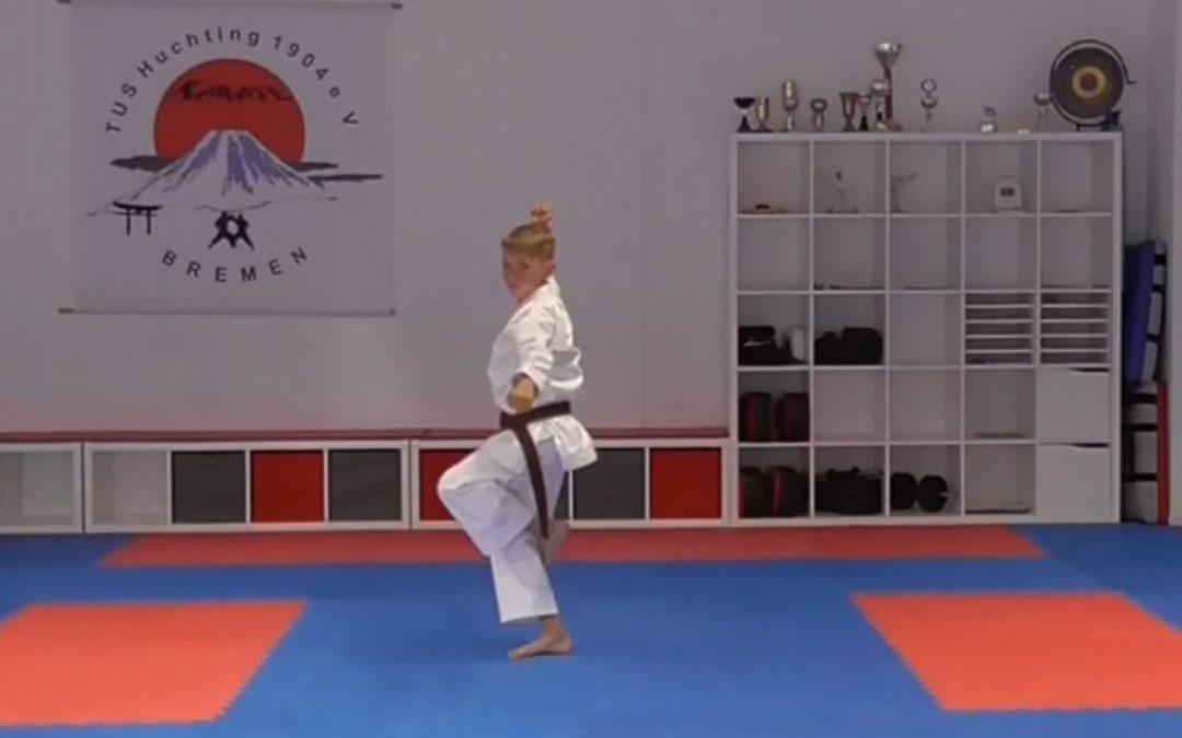 Karate: Alexander Albien erkämpft 3. Platz auf internat. Licher Kata Cup (eTournament)