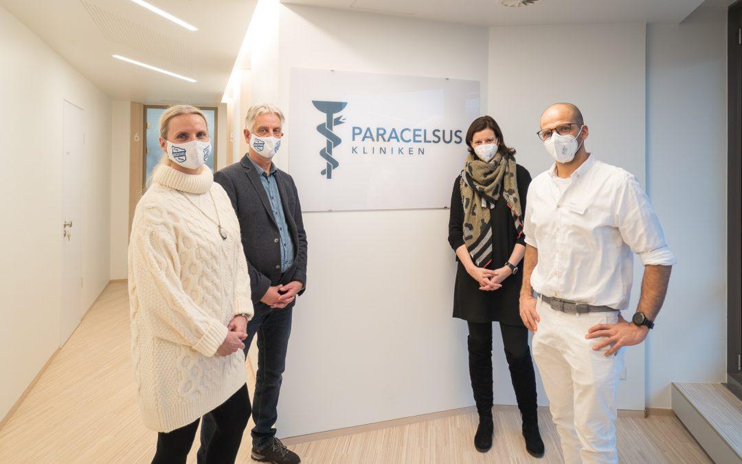 Paracelsus-Klinik kooperiert mit dem TUS Huchting