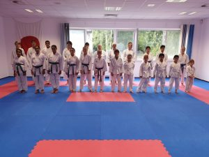 Prüflinge Karate 2020