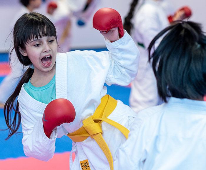 Karate Mädchen